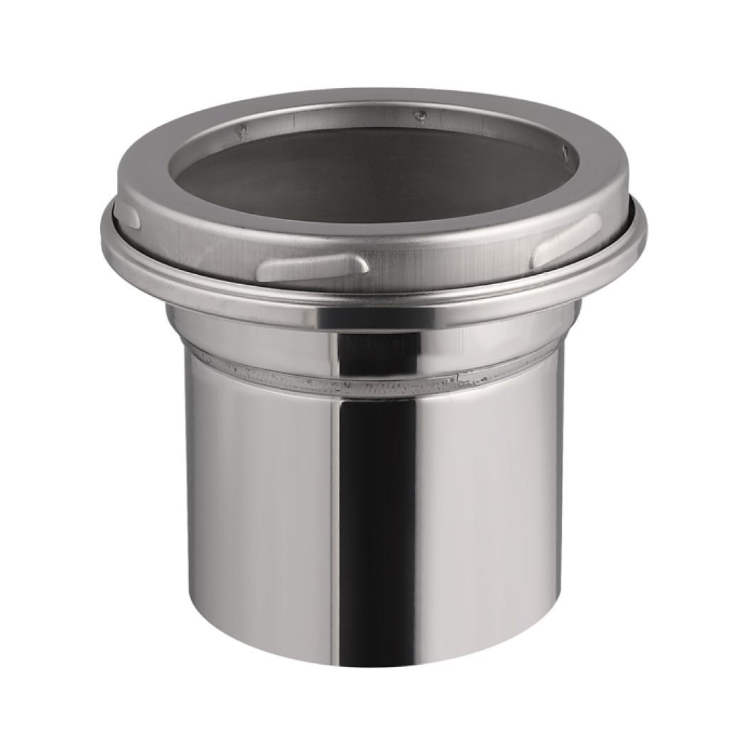 Adaptador en inox - de Ø200mm à 150mm