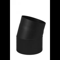 Codo 11° tubo de estufa de leña en acero 2mm - Ø150mm