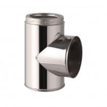 Te de conexión en inox – Ø125-150-180-200mm
